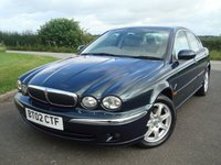 2002 JAGUAR X-TYPE 2.1 V6 SE 4d 157 BHP £895.00