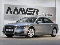 USED 2012 62 AUDI A8 3.0 L TDI QUATTRO SE 4d AUTO 246 BHP