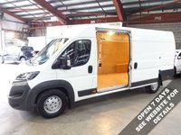 "USED 2016 16 PEUGEOT BOXER 2.2 HDI 435 L4H2 PROFESSIONAL P/V 130 BHP EX LWB VAN ""YOU'RE IN SAFE HANDS"" - AA DEALER PROMISE"