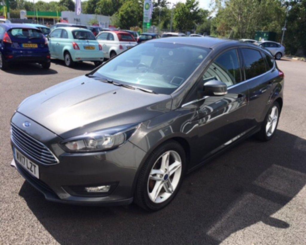 2017 Ford Focus Zetec £9,999