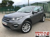 USED 2016 66 LAND ROVER DISCOVERY SPORT 2.0 TD4 SE TECH 5d 180 BHP 7 SEATER SATNAV LEATHER ONE OWNER  7 SEATER. SATELLITE NAVIGATION. STUNNING GREY MET WITH WHITE PART LEATHER TRIM. HEATED SEATS. CRUISE CONTROL. 18 INCH ALLOYS. COLOUR CODED TRIMS. PARKING SENSORS. REVERSE CAMERA.  ELECTRIC TAILGATE. BLUETOOTH PREP. CLIMATE CONTROL INCLUDING AIR CON. MULTIMEDIA SYSTEM. R/CD/DAB RADIO. 6 SPEED MANUAL. MFSW. MOT 08/20. ONE OWNER FROM NEW. SERVICE HISTORY. SUV & 4X4 CAR CENTRE LS23 7FR. TEL 01937 849492. OPTION 2