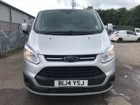 USED 2014 14 FORD TRANSIT CUSTOM 270 125PS L1 SWB LIMITED **GREAT SPEC**SUPERB VALUE VAN**