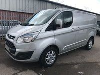 2014 FORD TRANSIT CUSTOM 270 125PS L1 SWB LIMITED **GREAT SPEC**SUPERB VALUE VAN** £7995.00