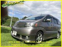 USED 2004 04 TOYOTA ALPHARD 3.0 MS Auto 8 Seats +87K+4WD+UK Sat Nav+DAB+Twin Power Doors+