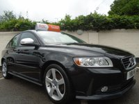 USED 2011 11 VOLVO S40 1.6 D2 R-DESIGN EDITION 4d 113 BHP GUARANTEED TO BEAT ANY 'WE BUY ANY CAR' VALUATION ON YOUR PART EXCHANGE