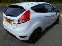 USED 2014 14 FORD FIESTA 1.2 ZETEC 3d 81 BHP ** ONE PREVIOUS OWNER, ONLY £30 ROAD TAX, YES ONLY 45,196 MILES FROM NEW **