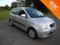USED 2011 11 KIA PICANTO 1.1 2 5d 64 BHP Low Miles For Age!! Rear Parking Sensors, Bluetooth Parrot Kit, Air Con