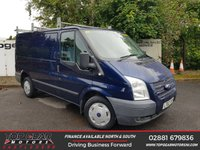 USED 2012 62 FORD TRANSIT 260 2.2 125BHP TREND SHORT LOW **85 VANS IN STOCK**
