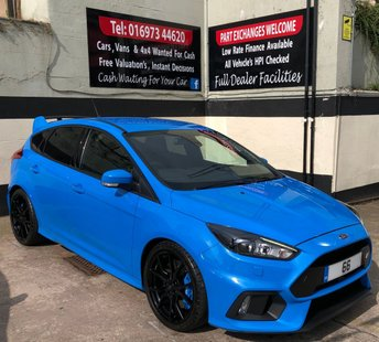 2016 FORD FOCUS RS 2.3 ECOBOOST 5DR 345 BHP, 1 OWNER **ONLY 370 MILES** £28450.00