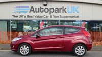 USED 2009 59 FORD FIESTA 1.2 ZETEC 3d 81 BHP LOW DEPOSIT OR NO DEPOSIT FINANCE AVAILABLE