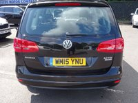 USED 2015 15 VOLKSWAGEN SHARAN 2.0 SE TDI DSG 5d AUTO 142 BHP AUTOMATIC LOW  MILEAGE FAMILY 7 SEATER WITH FSH