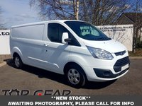 USED 2016 16 FORD TRANSIT CUSTOM 290 2.2 125 BHP LIMITED L2 H1**OVER 85 VANS IN STOCK**
