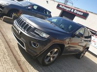 USED 2013 13 JEEP GRAND CHEROKEE 3.0 V6 CRD OVERLAND 5d AUTO 247 BHP