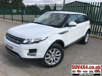 USED 2015 15 LAND ROVER RANGE ROVER EVOQUE 2.2 SD4 PURE TECH 5d 190 BHP 4WD SATNAV LEATHER ONEOWNER FSH 4WD. SATELLITE NAVIGATION. STUNNING WHITE WITH CREAM LEATHER TRIM. HEATED SEATS. CRUISE CONTROL. 18 INCH ALLOYS. COLOUR CODED TRIMS. PARKING SENSORS. BLUETOOTH PREP. CLIMATE CONTROL INCLUDING AIR CON. MULTIMEDIA SYSTEM. R/CD/DAB RADIO. 6 SPEED MANUAL. MFSW. MOT 03/20. ONE OWNER FROM NEW. SERVICE HISTORY. SUV & 4X4 CAR CENTRE LS23 7FR. TEL 01937 849492. OPTION 2