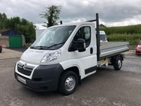 USED 2013 13 CITROEN RELAY 35 L2 TIPPER 2.2HDI 130ps *ONLY 30K MILES!*