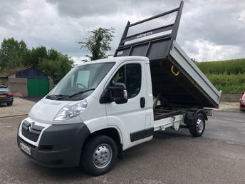 2013 CITROEN RELAY 35 L2 TIPPER 2.2HDI 130ps £7950.00