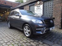 2014 MERCEDES-BENZ M CLASS 2.1 ML250 BLUETEC AMG SPORT 5d AUTO 205 BHP £16995.00