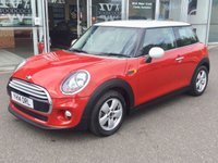 2014 MINI HATCH COOPER 1.5 COOPER 3 DOOR HATCHBACK 134 BHP PEPPER PACK £7890.00