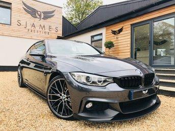 2016 BMW 4 SERIES 2.0 420D M SPORT 2d AUTO 188 BHP £17490.00