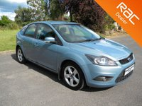 USED 2009 09 FORD FOCUS 1.8 ZETEC TDCI 5d 115 BHP Part Ex to clear - Alloy Wheels, Air Con, Aux Input