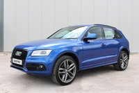 USED 2016 16 AUDI Q5 2.0 TDI QUATTRO S LINE 5d 148 BHP