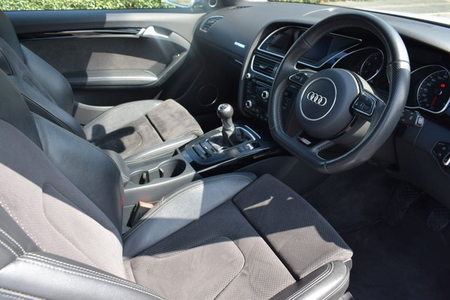 USED 2013 63 AUDI A5 1.8 TFSI BLACK EDITION 2d 170 BHP