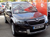 USED 2016 16 SKODA YETI OUTDOOR 2.0 TDI OUTDOOR SE L 5dr * Full Leather * **Cruise + Heated Leather**