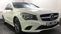 2013 MERCEDES-BENZ CLA 2.1 CLA220 CDI SPORT 4d 170 BHP £12500.00