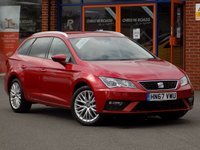 USED 2017 67 SEAT LEON 1.6 TDi SE Dynamic Technology 5dr Sport Tourer **Sat Nav + Cruise + A/C**