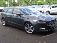 USED 2016 16 FORD MONDEO 2.0 TITANIUM TDCI 5d 148 BHP 1 OWNER + FULL SERVICE HISTORY