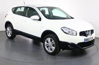 USED 2013 62 NISSAN QASHQAI 1.6 ACENTA 5d 117 BHP 3 OWNERS with 6 Stamp SERVICE HISTORY