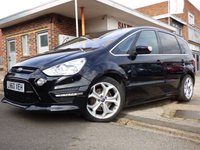 USED 2010 60 FORD S-MAX TITANIUM X SPORT AUTOMATIC FULL FORD SERVICE HISTORY SUPER SPECIFICATION SEVEN SEATER