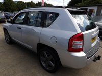USED 2009 09 JEEP COMPASS 2.4 LIMITED 5d 168 BHP NEW MOT, SERVICE & WARRANTY