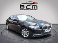 USED 2013 63 BMW 5 SERIES 2.0 518D SE 4d AUTO 141 BHP