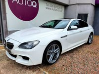 USED 2014 14 BMW 6 SERIES 3.0 640D M SPORT GRAN COUPE 4d AUTO 309 BHP FULL BMW SERVICE HISTORY