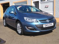 "USED 2015 15 VAUXHALL ASTRA 2.0 ELITE CDTI S/S 5d 163 BHP 1 Owner, Full Leather,Heated Seats, Bluetooth, 17"" Alloys"