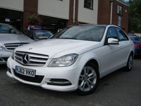 USED 2012 62 MERCEDES-BENZ C CLASS 2.1 C200 CDI BLUEEFFICIENCY EXECUTIVE SE 4d AUTO 135 BHP