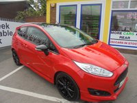 USED 2016 16 FORD FIESTA 1.0 ZETEC S RED EDITION 3d 139 BHP