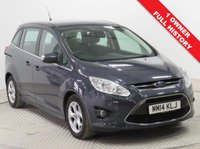 USED 2014 14 FORD GRAND C-MAX 1.6 ZETEC TDCI 5d 114 BHP Stunning Ford Grand C Max just had 1 Previous Owner, Full Ford Service History and has MOT to the 20th February 2020. In addition this great 7 Seater comes in Metallic Paint and has a fantastic specification including Parking Sensors, Bluetooth, Air Conditioning, Leather Multi Functional Steering Wheel, Alloy Wheels and comes with a Free Warranty. Nationwide Delivery Available. Finance Available at 9.9% APR Representative.