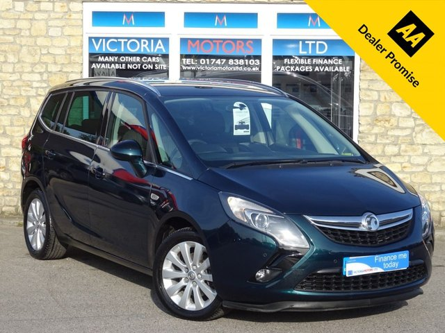 View our VAUXHALL ZAFIRA TOURER