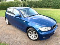 2005 BMW 1 SERIES 2.0 120I SE 5d 148 BHP Full BMW Service History MOT 09/20, MINT Example  £2195.00