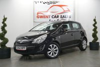 USED 2012 62 VAUXHALL CORSA 1.2 ACTIVE AC 5d 83 BHP *BLUETOOTH, LOW MILES*