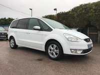 USED 2010 59 FORD GALAXY 2.0 TDCI  ZETEC 5d 140 BHP WITH LOW MILEAGE AND 7 SEATS NO DEPOSIT  FINANCE ARRANGED, APPLY HERE NOW