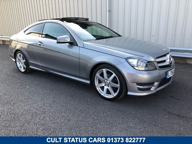 2014 64 MERCEDES-BENZ C CLASS C180 1.6 PETROL 154BHP AMG SPORT EDITION PREMIUM PLUS COUPE MANUAL