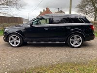 USED 2014 AUDI Q7 4.2 TDI QUATTRO S LINE PLUS 5d AUTO 340 BHP FANTASTIC HUGE SPEC AUDI Q7 4.2 TDI. SUPERB HISTORY. JUST SERVICED NEW KEYLESS HANDLES COST OVER £1000. STUNNING CONDITION. GOOGLE MAPS, ADAPTIVE LIGHTS, KEYLES  GO.