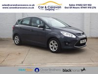 USED 2014 14 FORD C-MAX 1.6 ZETEC TDCI 5d 114 BHP One Owner Full FORD History Buy Now, Pay Later Finance!