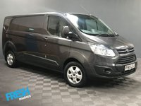 USED 2016 65 FORD TRANSIT CUSTOM 2.2 290 LIMITED L2H1 * 0% Deposit Finance Available