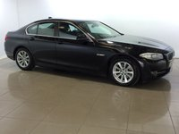 USED 2012 12 BMW 5 SERIES 2.0 520D EFFICIENTDYNAMICS 4d 181 BHP LEATHER | BLUETOOTH | ALLOYS |