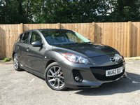 USED 2013 62 MAZDA 3 1.6 D VENTURE EDITION 5d 113 BHP Service History
