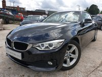 USED 2015 15 BMW 4 SERIES 2.0 418D SE 2d AUTO 148BHP CLIMATE+PARKING+LOWTAX+MEDIA+A/C+NAV+LEATHERTRIM+ALLOYS+ELEC+